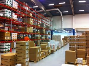 A full working warehouse