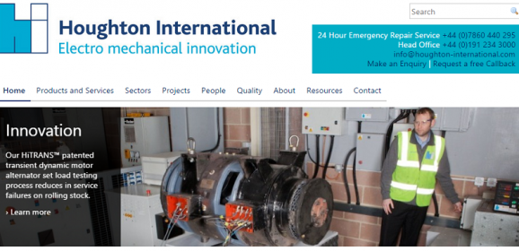 Houghton International: Securing Motor Maintenance and Rewind Contract at Lynemouth Power Limited