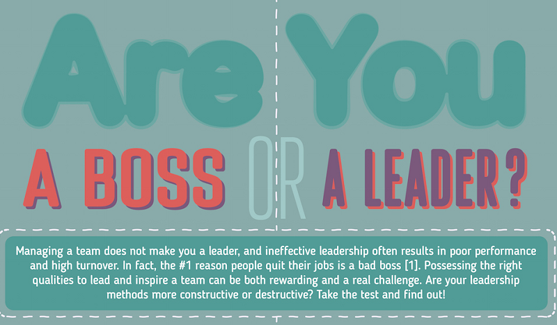 Boss vs. Leader: The Never-Ending Battle Between Power and Leadership