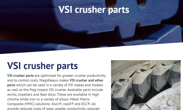Parts for the VSI Crusher