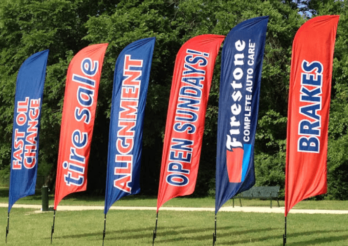 Are Advertising Flags Beneficial To Local Marketing Endeavors?